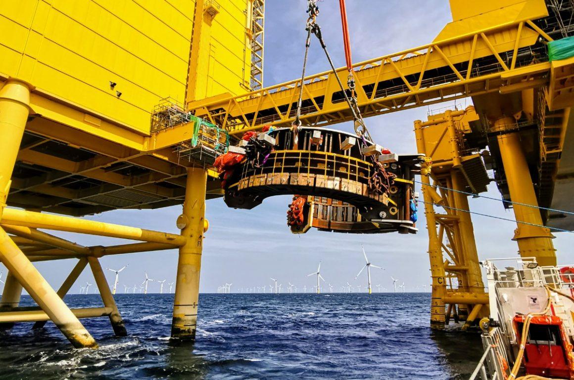 DolWin alpha offshore platform