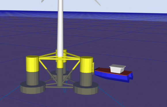 Crew Transfer to (Floating) Offshore Wind Turbines