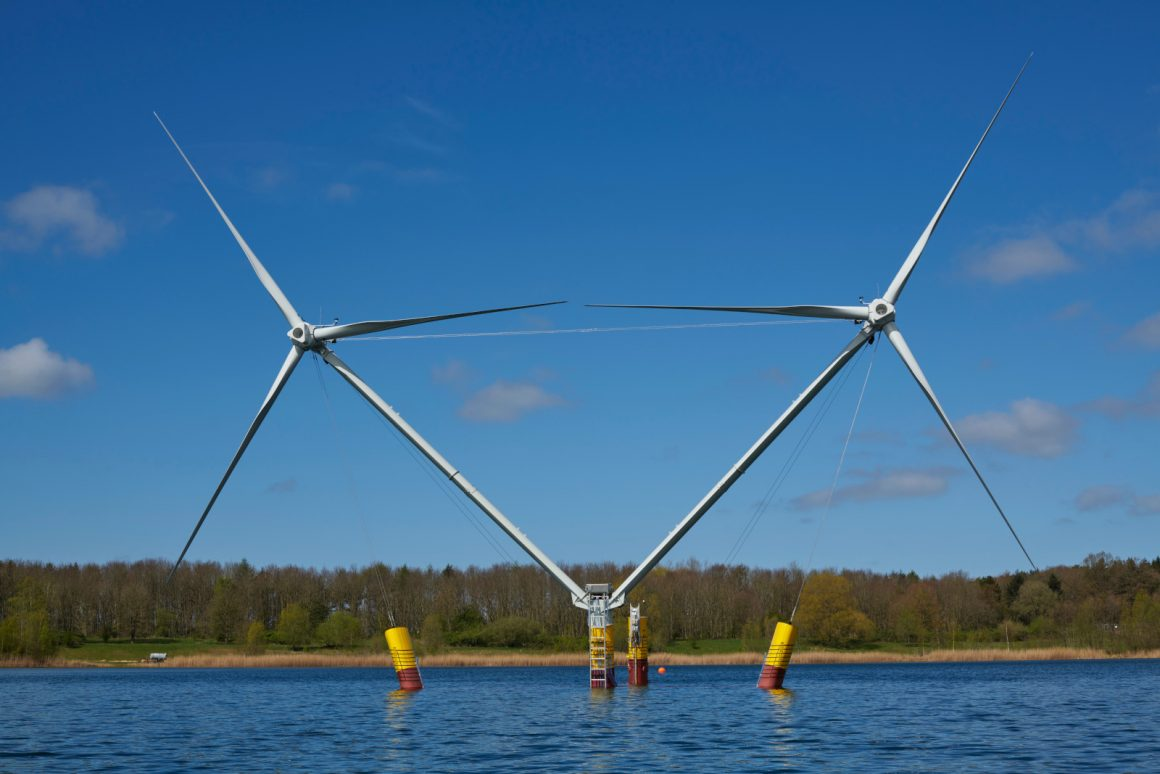1:10 Scale Floating Wind Turbine
